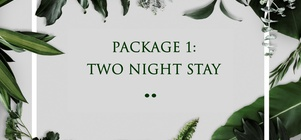 PACKAGE 1: TWO NIGHT STAY